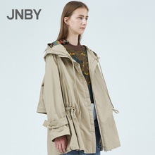 Shopping mall with the same paragraph JNBY / Jiangnan cloth 2019 spring new product waist short windbreaker jacket female 5JB222510