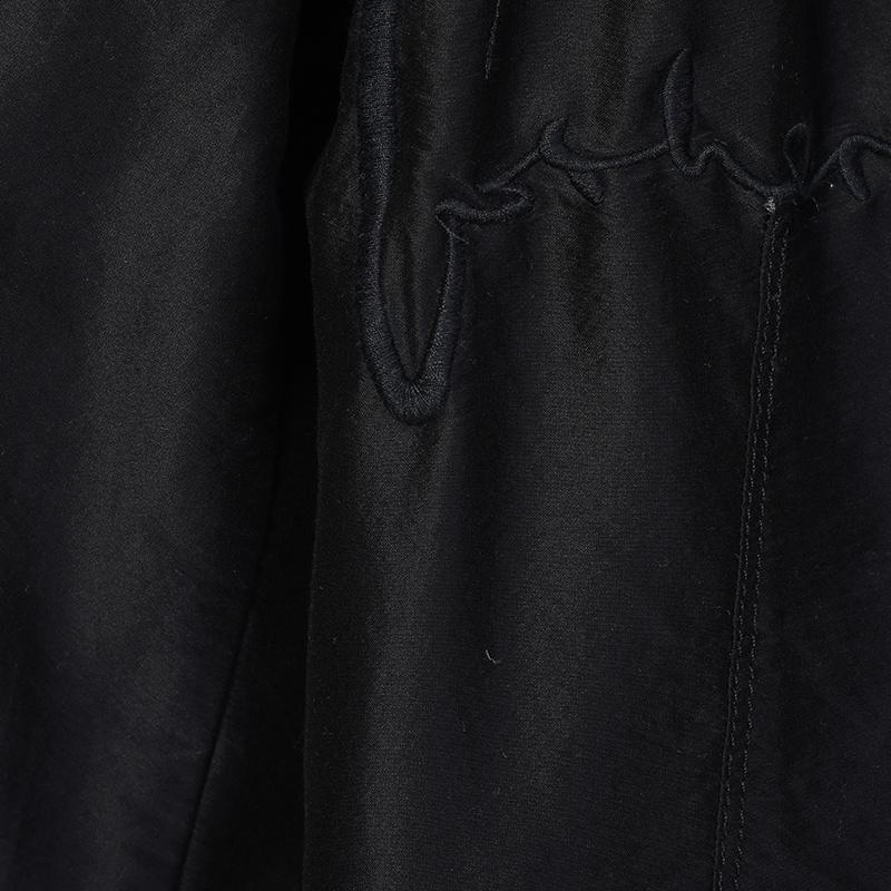 专柜正品JNBY/江南布衣2018秋女装时尚刺绣西装黑色外套5HB22193