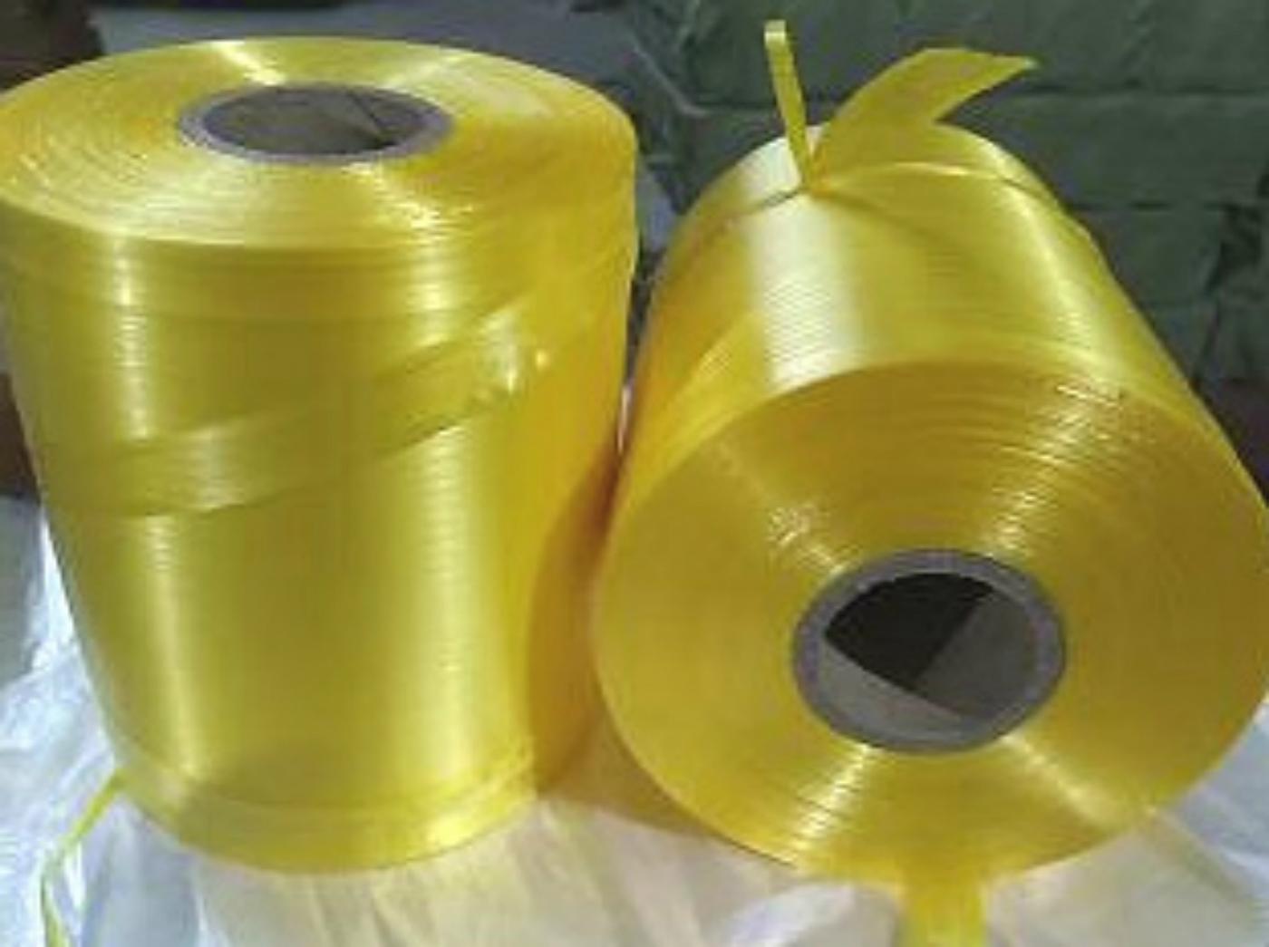 带捆扎色可选绳纸箱专用包装塑料绳机用PE自动结束日本购打包带全