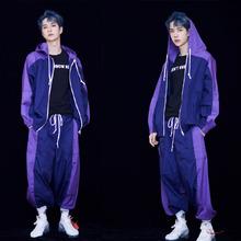 创造101王一博明星同款衣服18ins超火的宽松运动外套抖音同款潮男