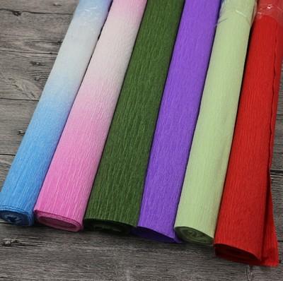 皱纹纸花制作材料大礼包,满足大部分皱纹纸花制作