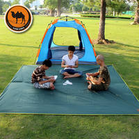 Camel, sky curtain, 300*300cm super large cloth, outdoor camping, Oxford cloth, moisture-proof picnic mat