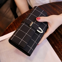 Love Yafei wallet female long paragraph scrub Japan and South Korea large capacity multi-function 30% off women's wallet wallet clutch