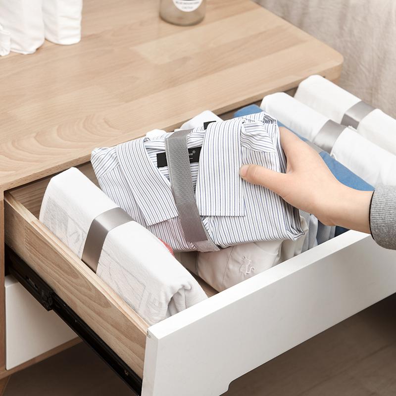 日本懒人叠衣板叠衣折衣神器家用衣柜衣服衣物衬衫毛衣收纳整理板