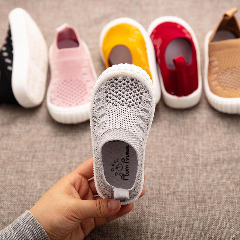 夏季儿童单网鞋男童透气网面运动鞋小童宝宝镂空网眼鞋女童幼儿园