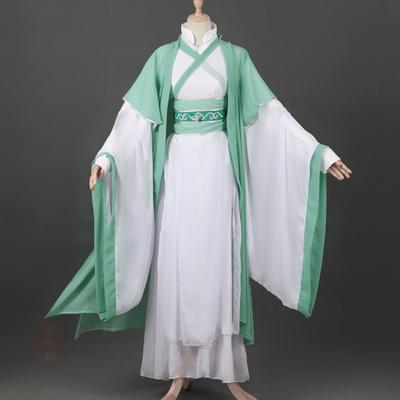 古装cosplay男沈垣沈清秋cos服男cosplay服汉服风薄荷绿动漫古风