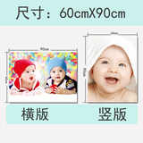 Doll picture baby picture wall stickers baby poster prenatal education hanging picture doll stickers wedding room dragon and baby tire pictorial