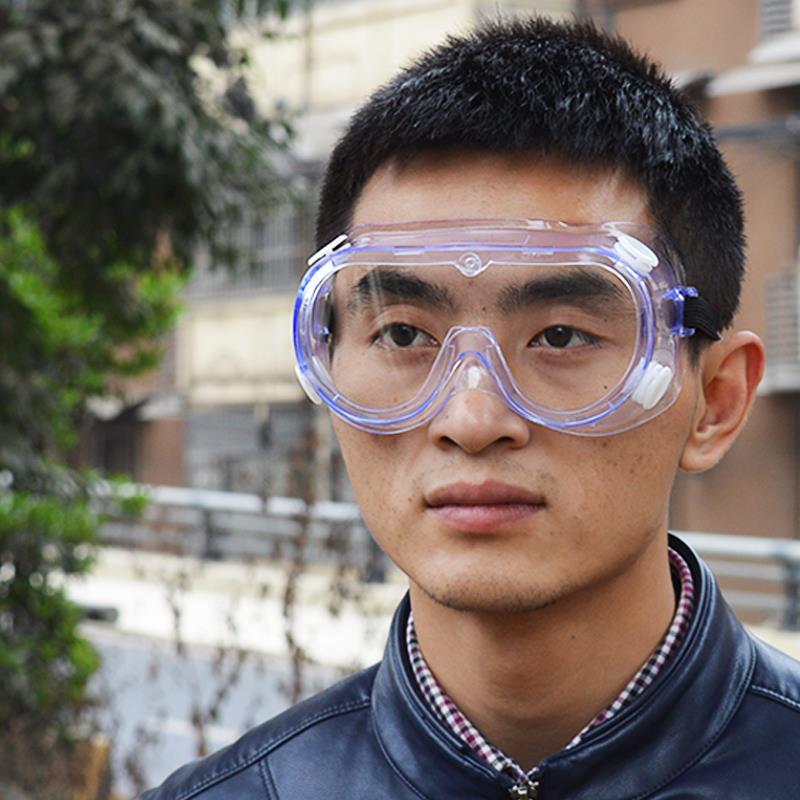 防尘眼镜风镜防风防沙透明防灰尘工业粉尘打磨装修防护防飞溅护目