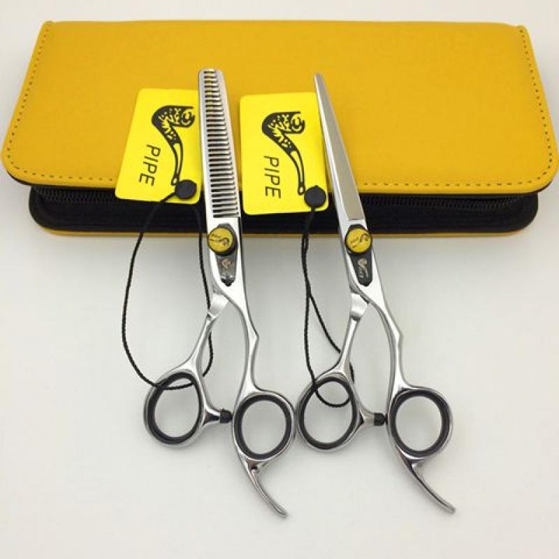 烟斗理发美发剪刀平剪牙剪打薄剪发型师理发店专用剪时尚造型剪刀