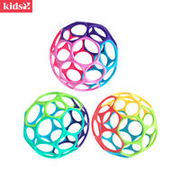Kids2 oball small soft ball baby hand grip ball baby toy exercise sensory training tactile perception
