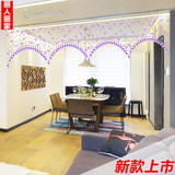 Free punch bead curtain crystal decorative curtain porch divider curtain European living room dining room screen curtain curtain butterfly new