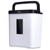 Deli 9939 shredder office mini small granular low noise automatic small household portable high power a4 file commercial electric high security paper mute manual crusher