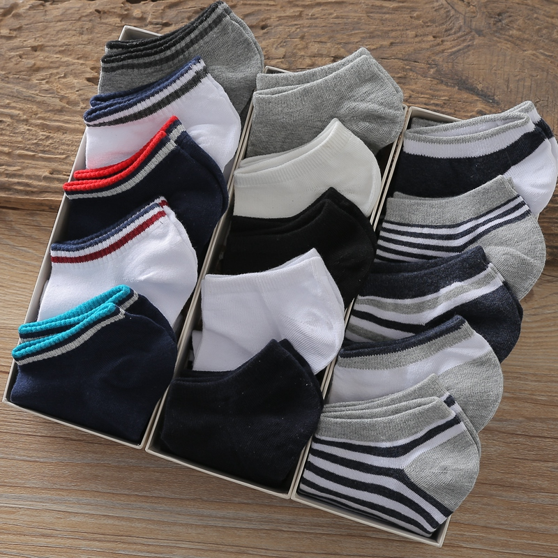 民族风粗线袜子