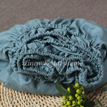 French imported linen raw material American linen bed hat special price for bacteriostasis, mite removal, moisture absorption, sweating and antimicrobial linen bed hat