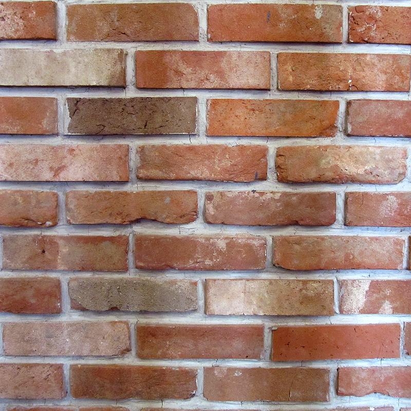 韩国砖片 定制 红砖老砖红砖切文化砖砖头红砖皮旧红老砖片仿古砖