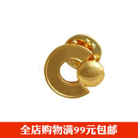 China Life Insurance Country Sushi Emblem Gold Plated Badge Badge Medal Life China Life Special Edition can be distributed