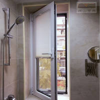 Inside the window, the curtains are free of perforated venetian honeycomb curtains, kitchen bathroom shutters, waterproof shade curtains