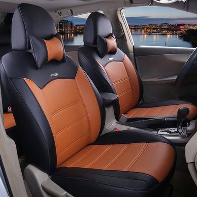 汽车坐垫座套全包围四季通用专车专用座椅套新款皮尤款全包座套垫