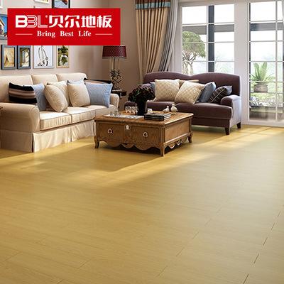 贝尔地板 强化复合木地板12mm环保耐磨出口厂家直销骨感系列