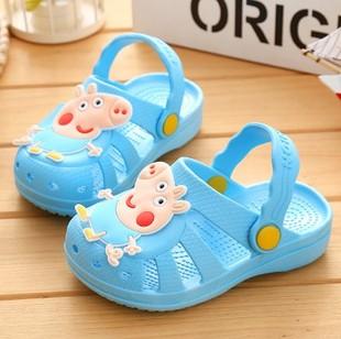 1-2-3-4岁凉拖鞋女夏一周岁半女宝宝软底公主女童男童防滑学步鞋