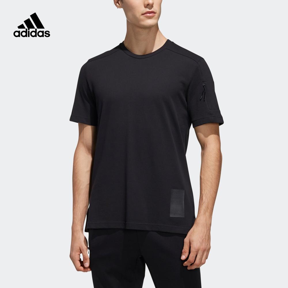阿迪达斯官网adidas 男装运动型格短袖T恤EH3731 EH3732