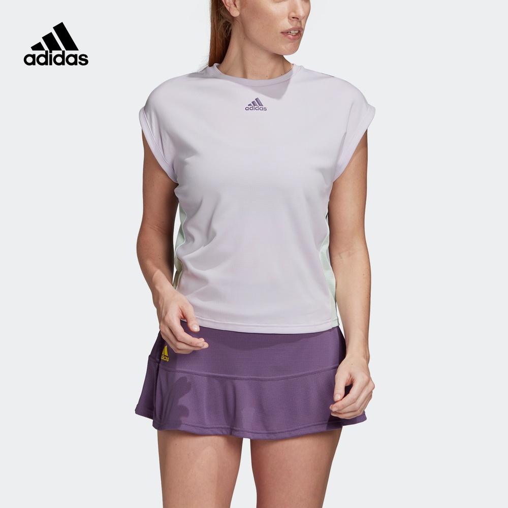 阿迪达斯官网 adidas W TEE HEAT.RDY 女装网球运动短袖T恤FK0758