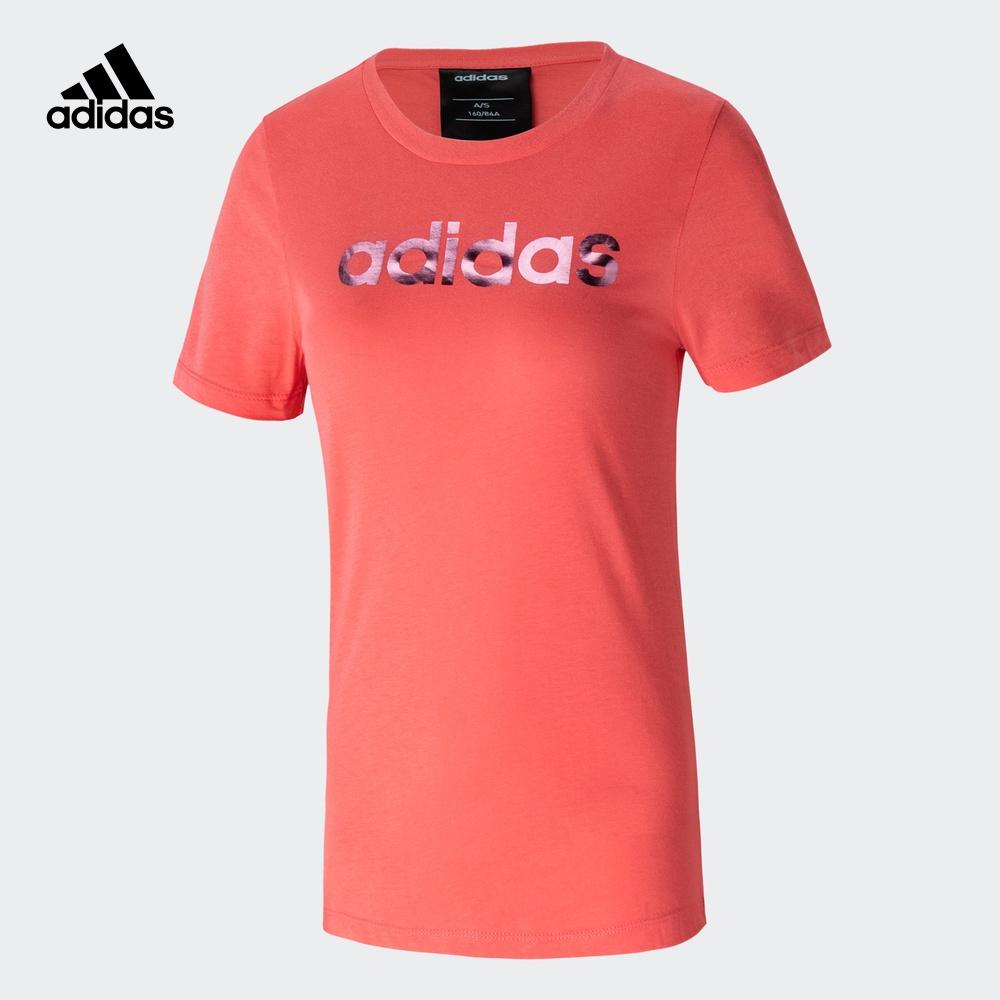 阿迪达斯官网 adidas 女装运动型格短袖T恤EC4744 EC4745 EC4746