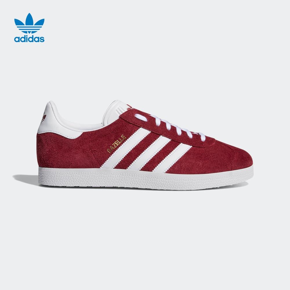 阿迪达斯官网adidas 三叶草 Gazelle 男女经典运动鞋B41646B41645