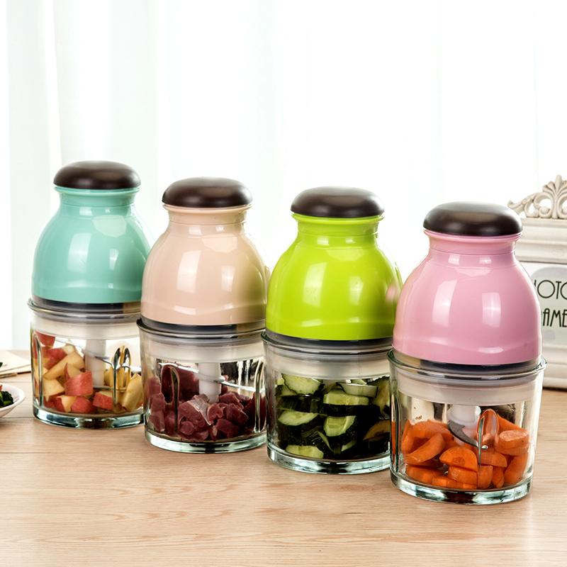 榨汁机电动小型家用多功能榨汁辅食一体机玻璃绞肉果泥搅拌料理机
