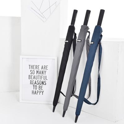 德国商务雨伞长柄大号男个性创意潮流简约超大直柄长伞长柄伞自动