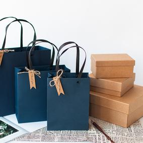 商务礼品袋手提袋纸袋包装袋礼品盒母亲节礼盒婚庆袋节日礼物袋