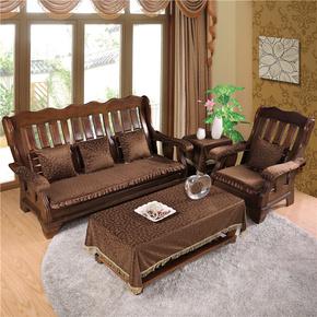 冬季加厚实木沙发坐垫木头木质红木椅子春秋椅垫家具联邦垫可拆洗