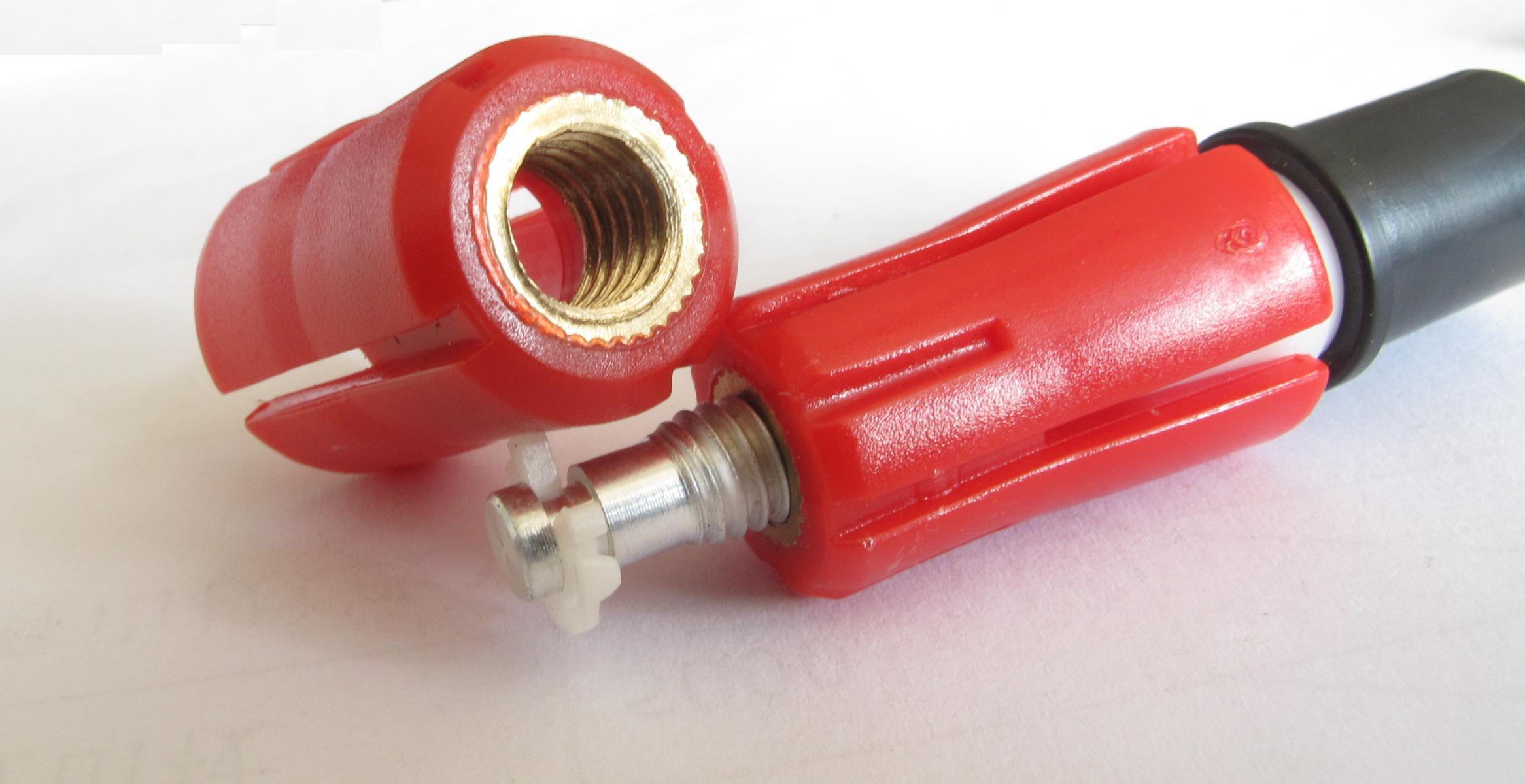 登山杖配件内锁紧螺帽碳素登山杖用膨胀栓安全可靠外锁速锁配件