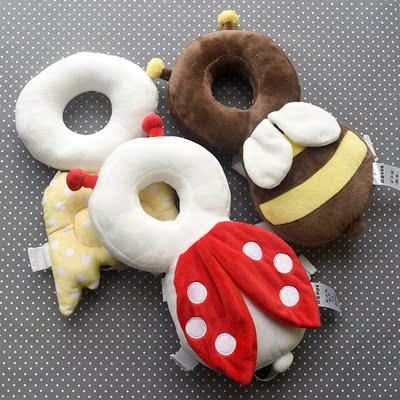 婴幼儿学步防摔保护垫可调节背带宝宝天使翅膀头部防护加固护头枕