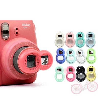 拍立得自拍镜mini8 mini9 mini7s迷kitty相机通用和兔子自拍神器