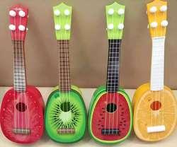 【天天特价】宝宝儿童水果迷你吉他尤克里里可弹奏音乐玩具