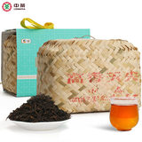 Chinese tea 100-year-old wooden warehouse Hunan Anhua black tea tianxin Anhua black tea high fragrance sky tip 1kg