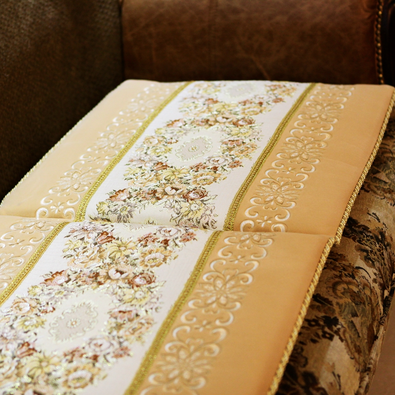 高档豪华 欧式沙发垫/坐垫 加厚布艺实木真皮沙发坐垫55*55圣美绮1元优惠券