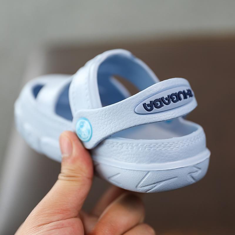 儿童镂空拖鞋夏宝宝男1—3岁沙滩凉拖鞋女童可爱室内防滑软底拖鞋