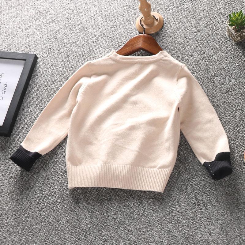 男童针织开衫外套 2018年韩版潮春秋款小童薄男1-3-5岁毛衣宝宝