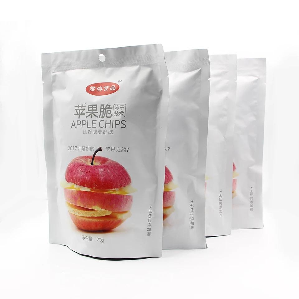 君澳食品FD冻干苹果干苹果脆零食20g*4袋 苹果片水果丹东特产食品