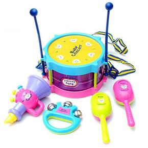 【天天特價】兒童樂器組合套裝歡樂樂器組合敲擊鼓沙棰 手抓搖鈴