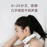 Shen Mengchen with the recommended cervical massager neck mini portable small warm heart massage instrument office usb relieve fatigue smart vertebra smart neck instrument pulse pillow small vibrato
