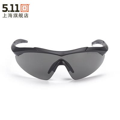 美国5.11户外男士太阳眼镜风镜野营护目镜52058护翼遮阳眼镜