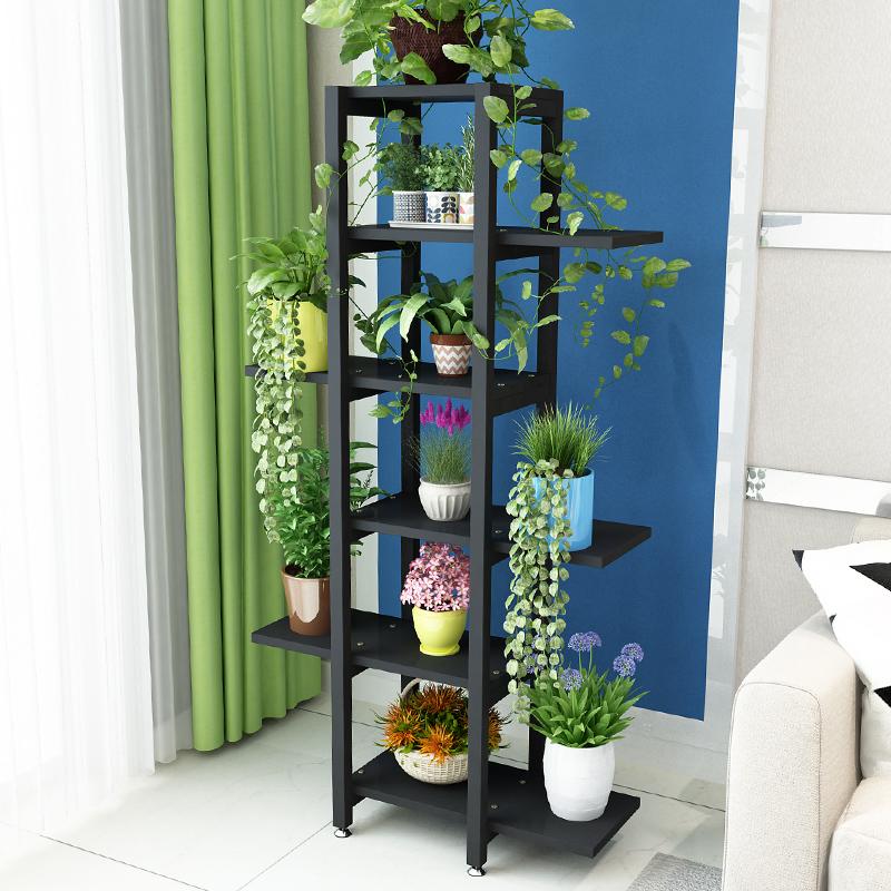 花架子多层室内特价省空间客厅阳台铁艺落地花盆架子绿萝多肉花架