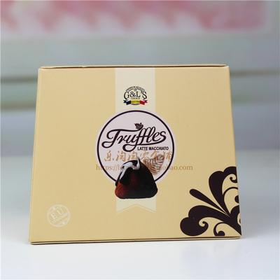 临期买1送1德菲丝法式松露形巧克力200g清新抹茶(代可可脂)