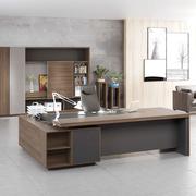 老板桌总裁桌2.8m办工桌简约现代办公家具2.6米董事长办公桌椅