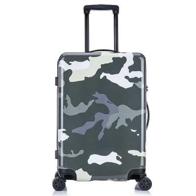 迷彩拉杆箱万向轮时尚军男女旅行箱包20 24寸行李登机箱子箱包