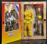21st century 1/6 soldiers black / yellow firefighters can D fire hero Xie Weifeng Yu Wenle