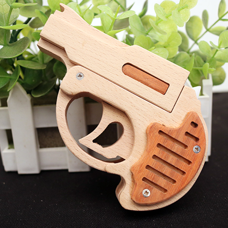 OGG CRAFT Simulation Palm Thunder beat rubber band pistols for children to play